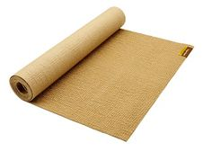 "These non-slip jute yoga mats from Hugger Mugger are naturally breathable and lightweight, making them easy to transport. In addition to offering soft, cushiony support, these mats are recyclable, renewable and biodegradable. Jute's natural absorption properties make the ""Sattva"" mat an especially good option for fans of Hot Yoga. http://www.onegreenplanet.org/lifestyle/the-joys-of-jute-8-eco-friendly-jute-products/2/"