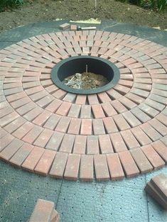 Image result for semi circle brick patio