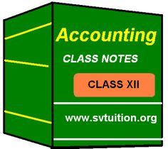 """Yesterday, one of my online student asked question, """" How can I download 12th Class Accounting Notes?""""   So, I am explaining here very ..."""