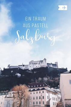 Ein Tag in Salzburg. - Finance tips, saving money, budgeting planner Savings Planner, Reisen In Europa, Austria Travel, Innsbruck, Travel Companies, Free Travel, Weekend Trips, Wonderful Places, Travel Guides
