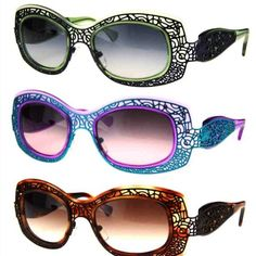 Lafont Eyewear... a family member has the blue ones and now I want some too! (not the same design, of course....) :)