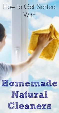 Getting Started with Homemade Natural Cleaners :: Five Little Homesteaders