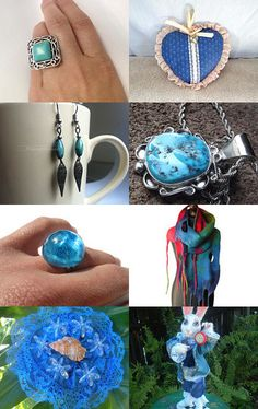 Dive in the Blue by Gabbie on Etsy--Pinned with TreasuryPin.com