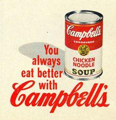 Campbells vintage ad
