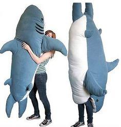 Shark pillow / sleeping bag EAT ME.