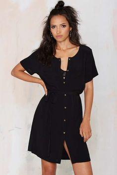 Total Flirt Shirt Dress