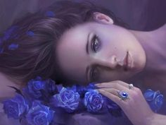 Lyanna Stark the Blue Rose of Winterfell