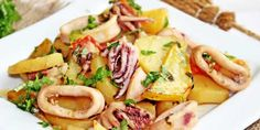 Encornets pomme de terre au cookeo
