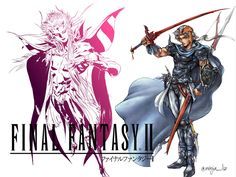 FINAL FANTASY II features - The bitter and beautiful tale of four…