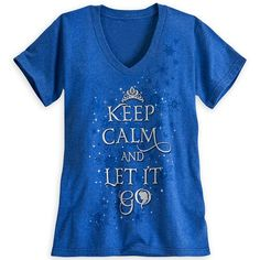 "Disney Store Adult shirt ""Let it go"" for me"
