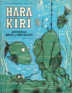 Hara Kiri - # 10 - Juillet-Août 1961