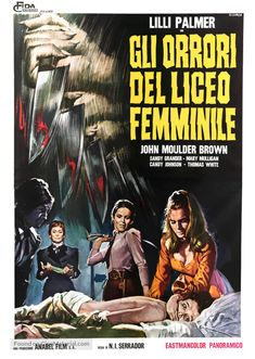 Das Versteck - Angst und Mord im Mädcheninternat - Uncut Version [Blu-ray] Horror Movie Posters, Cinema Posters, Movie Poster Art, Lilli Palmer, Streaming Hd, Classic Horror Movies, Famous Monsters, Vintage Horror, Fantasy Movies