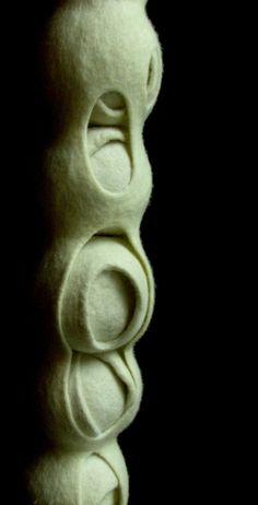 Felted  sculpture | textile art