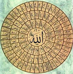 99 Names of Allah(SWT)