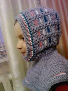 ШАПКА - ШЛЕМ, связано по МК с нашего форума / Вязание спицами / Вязание спицами для детей