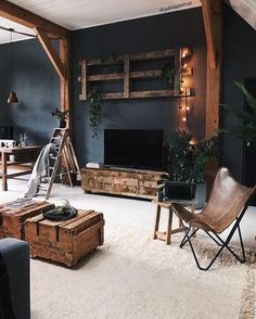 modern home accents Awesome Industrial Style Decor Designs That You Can Create For Your Urban Living Space Apartment Industrial Design Apartment Interior Design, Best Interior Design, Interior Design Living Room, Living Room Designs, Living Room Decor, Living Spaces, Bedroom Designs, Rustic Bedroom Design, Interior Livingroom