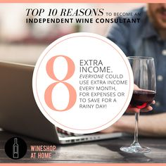 Looking to make an extra income to help pay bills, pay down student loans or to save for a vacation? Talk to me about joining WineShop At Home!