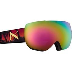 Anon MIG Goggle, Don/Pink Cobalt, One Size