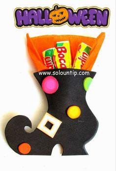 Muchos Souvenirs para hacer dulceros en Halloween