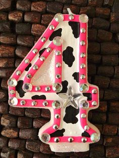 Cowgirl Birthday Candle by cutiepootie on Etsy