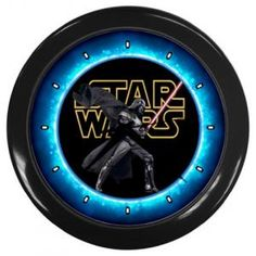 "STAR WARS VII THE FORCE AWAKENS 10"" WALL CLOCK $14.99"