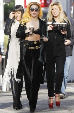 let's all just take a moment to appreciate the flawlessness that is these three women. Tara Savelo, Lady Gaga, Lady Starlight. <3