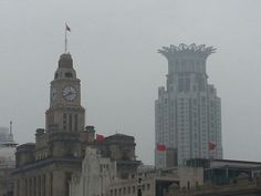Shanghai... amazing buildings.
