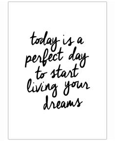 Today is a Perfect Day of THE MOTIVATED TYPE now on JUNIQE!