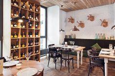 """Résultat de recherche d'images pour """"salle de restaurant rustique chic"""""""