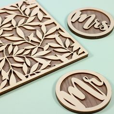 Placemat and coasters for a wedding! Placemat and coasters for a wedding! Laser Cutter Ideas, Laser Cutter Projects, Cnc Projects, Laser Cut Paper, Laser Cut Wood, Laser Cutting, Woodworking Jigs, Woodworking Projects, Wood Placemats