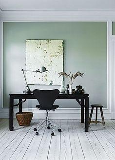 Scandinavian Interior Design... #desk in Denmark