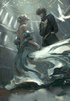 in Fantasy ~ In six months, Cinderella will be free. At ninet… Fantasy Fantasy Magic, 3d Fantasy, Fantasy Artwork, Digital Art Fantasy, Fantasy Romance, Anime Fantasy, Fantasy Paintings, Inspiration Art, Character Inspiration