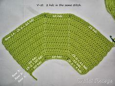 Walai Krusye: 1# Tutorial: Fat Bottom Bag Crochet Tote, Crochet Handbags, Crochet Gifts, Crochet Bag Tutorials, Crochet Patterns, Clutch, Knitted Bags, Diy Fashion, Pattern Design