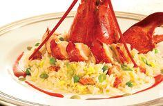 #Aragosta allo #Champagne con riso pilaf, la #ricetta | Fantasie di cucina http://www.fantasiedicucina.it/aragosta-allo-champagne-con-riso-pilaf-la-ricetta-di-natale/