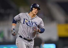 TAMPA BAY RAYS: LOGAN MORRISON:  Each team's most surprising player this season  -  October 16, 2017.  Morrison stopped flirting with being a potent power hitter and fully committed to the craft, connecting on 38 homers for the Rays. The 30-year-old also set personal highs in RBI (85) and on-base percentage (.353). Ultimately, he finished in the AL top five in homers and walks, sealing his rise to the elite level of AL sluggers.
