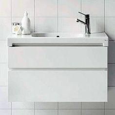 Alakaappi IDO Seven D 800x450x395 mm 2 laatikkoa valkoinen