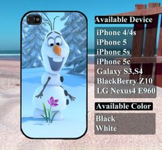 olaf disney frozen case  iPhone 4/4s iPhone5 by vallenshop on Etsy, $13.50