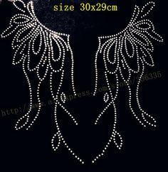 Free-shipping-flower-pattern-collar-pattern-3-hotfix-rhinestones-motif-heat-transfer-iron-on-patch-garment.jpg_350x350.jpg (341×350)