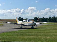 Cessna nach der Landung