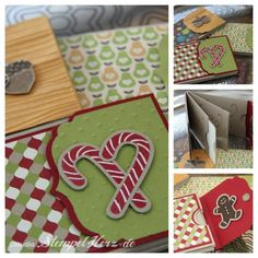 Stampin up - Minialbum - Winterkollektion - Scentsational Season Collage