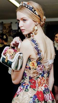 Fashion Dolce Gabbana <3 - STYLE DECORUM http://www.styledecorum.com/