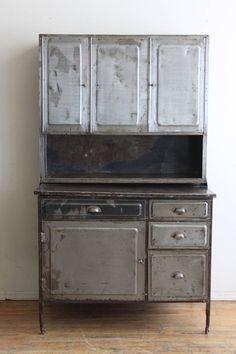 vintage metal hoosier cabinet second chances barn antiques