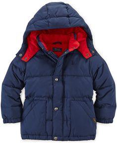 Polo Ralph Lauren Kids Jacket Boys Down Jacket Kids