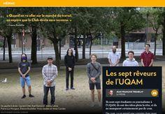 Les sept rêveurs del'UQAM - La Presse+ Le Club, Version Francaise, Journal, Group Of Seven, Journal Entries, Journals