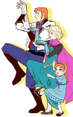 Helsa Family | Hans x Elsa | Helsa / Hansla / iceburns Fire & Ice | Disney's Frozen | animated movie | OTP