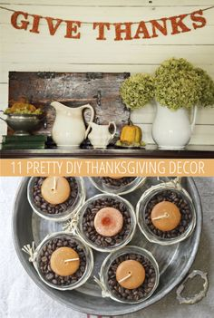 #DIY #Thanksgiving #Decorations
