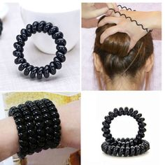 Like and Share if you want this  4 Pcs/Lot Telephone Wire Style Hair Tie     Tag a friend who would love this!     FREE Shipping Worldwide     Buy one here---> https://www.accessory.sg/4-pcslot-women-ladies-girls-new-black-elastic-girl-rubber-telephone-wire-style-hair-ties-plastic-rope-hair-band-accessories/    #womensdenim