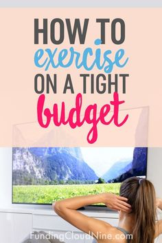 Say goodbye to those $18 yoga classes! Learn some great tips and ideas for how to exercise on a budget!