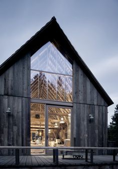 Old Barn Renovated and Converted into a Three-Bedroom Retreat - - Canyon Barn is a renovation project completed by Seattle-based MW Works Architecture. Old barn renovated and converted into a retreat. Architecture Renovation, Barn Renovation, Architecture Design, Farmhouse Renovation, Residential Architecture, Farmhouse Architecture, Architecture Office, Classical Architecture, Sustainable Architecture
