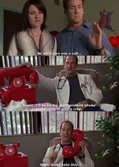 Tv Funny, Funny Stuff, Hilarious, Stupid Funny, Awesome Stuff, Funny Pics, Funny Pictures, Turk And Jd, Scrubs Quotes